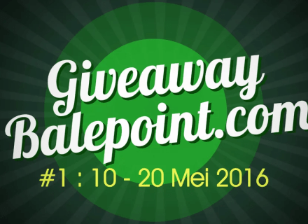Giveaway Balepoint Bulan Mei 2016