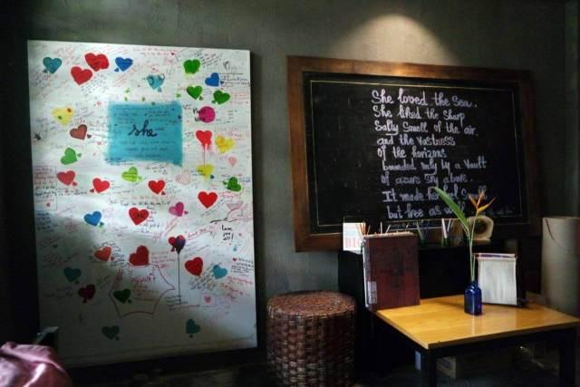 Satu sudut She Cafe Ho Chi Minh