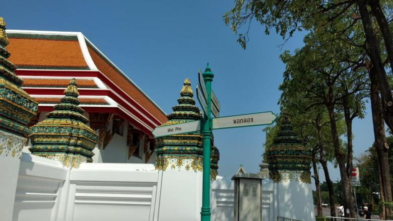 Petunjuk Jalan Wat Pho Bangkok