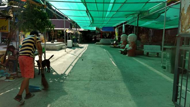 Wang Saen Suk Hell Garden Thailand