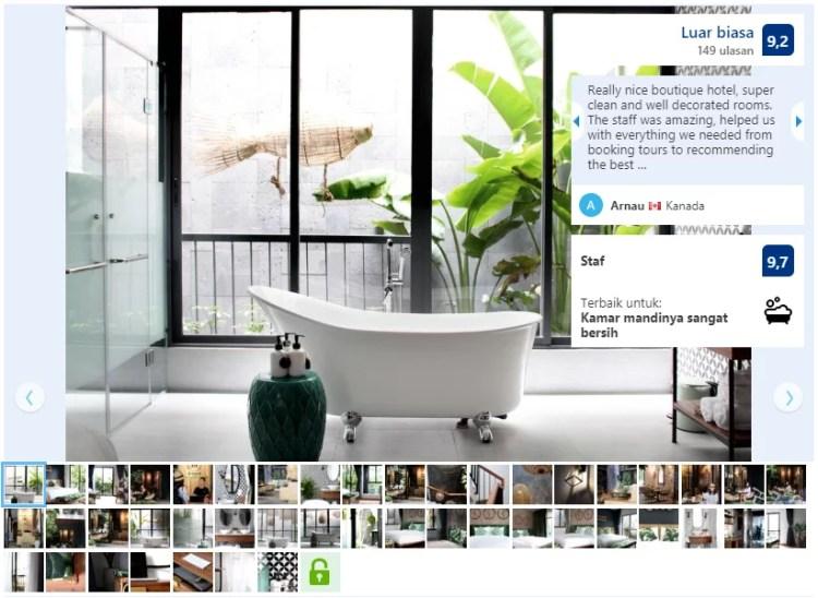Photo Gallery Halaman Profil Hotel Booking.com
