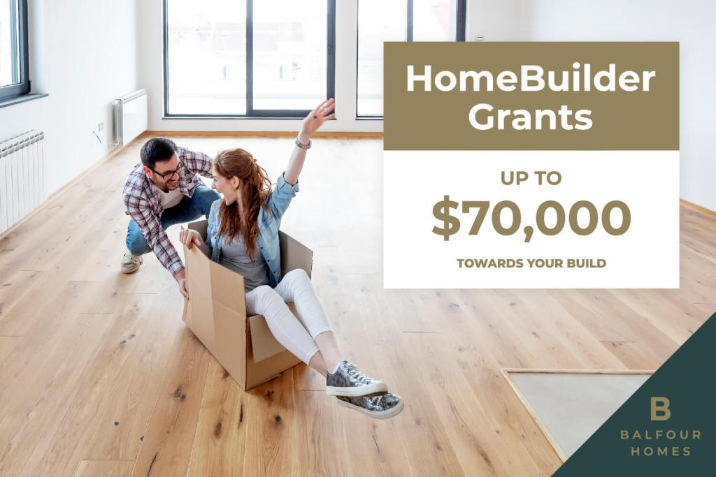 Balfour Homes - HomeBuilder Grant Eligibility and Coverage - What to Know