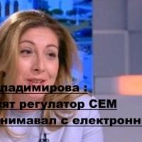 Виц на деня: Съветът за електронни медии не се занимава с електронни медии - София Владимирова