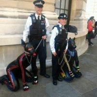 До къде е стигнала полицията във Великобритания да подкрепя онзи парад... нали се сещате