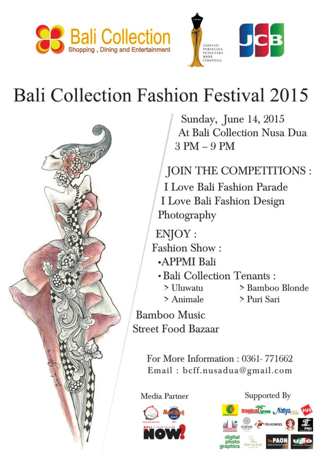 Flyer Bali Collection FASHION FESTIVAL 2015 -1