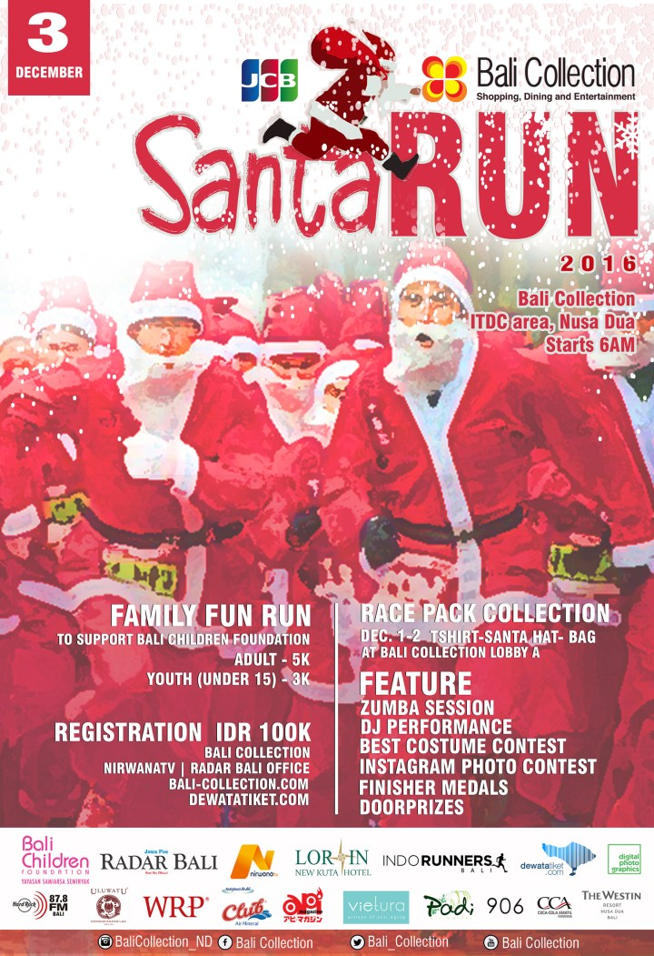 SANTA RUN BALI COLLECTION