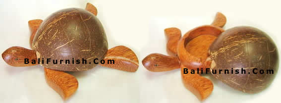 Coco Wood Crafts Turtle