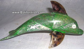 dolphin shell carvings
