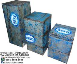 Oildrm1-14 Oil Drum Furniture For Sale Bali Indonesia