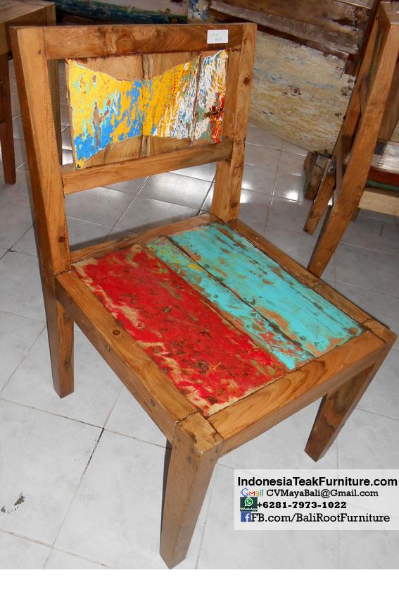 Boat Wood Furniture Bali Bwf22317 3