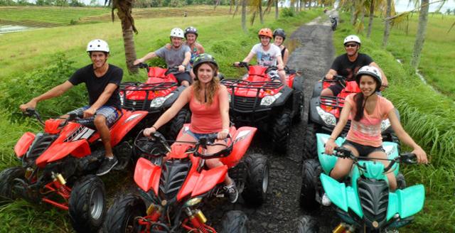 Bali ATV ride tandem
