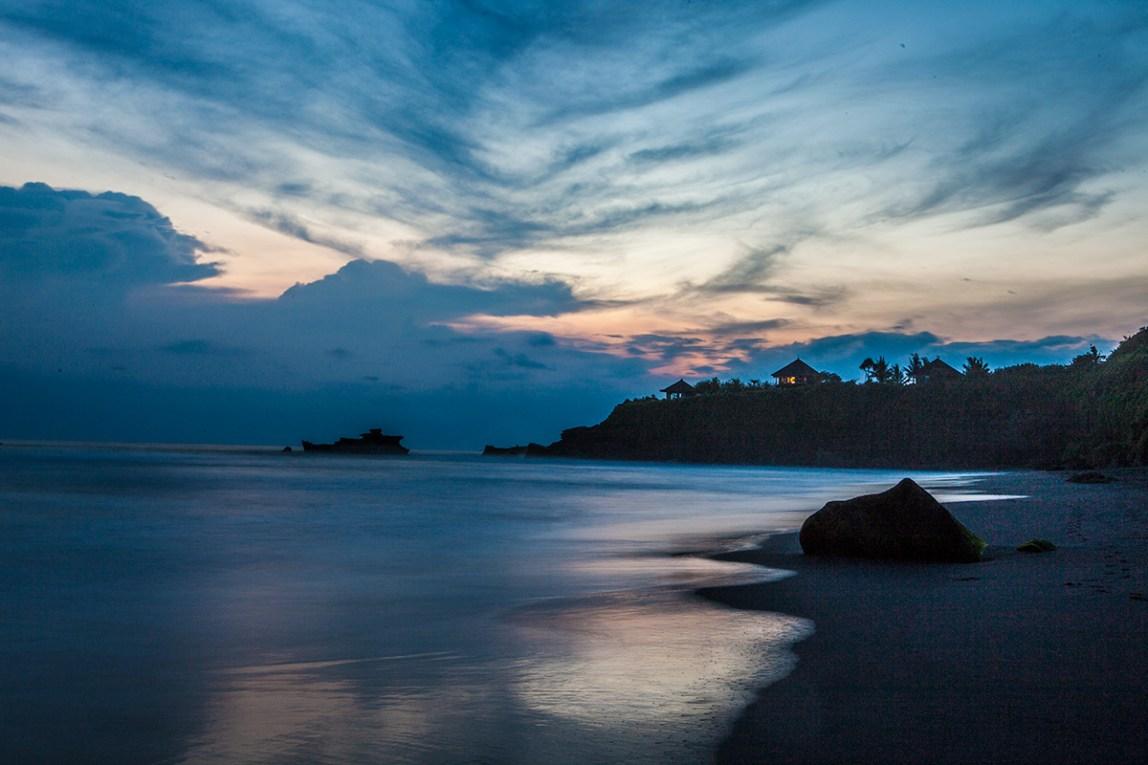 Bali-Balian-Beach-at-Night