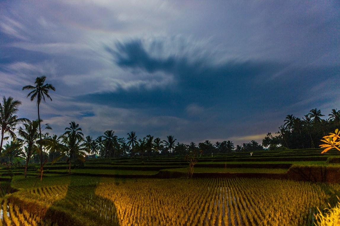 Bali-Ubud-Abendhimmel