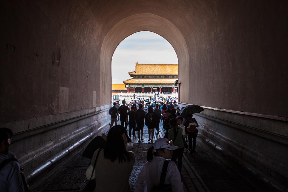 Peking-Verbotene-Stadt-Tor