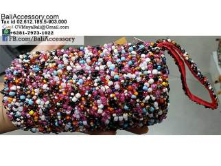 Beaded Bags Purse Wallets from Bali Indonesia