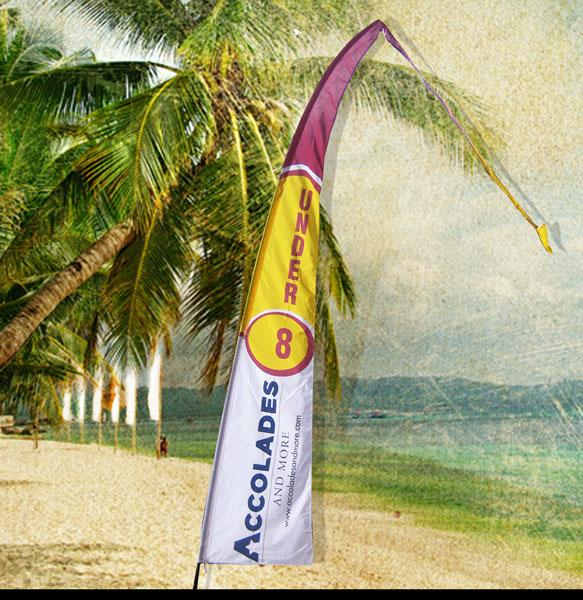 Digital Bali Flag 4m
