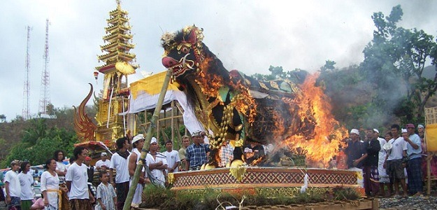 Ngaben Ceremony in Bali