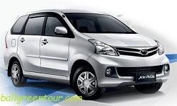 Daihatsu Xenia - Bali Car Charter - Bali Green Tour