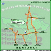 BHHH2 Run #1330 Puri Damai Demayu Tunon Ubud 22-July-17