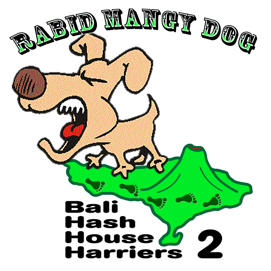 Run #1330 Puri Damai Saturday 22-July-17 rABID mANGY dOG