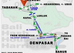 BHHH2 Run 1350 Kuburan Cina Mengwi, Tabanan 9-Dec-17