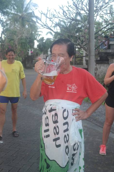 Bali Hash House Harriers 2 Hash Trash Run #1368 Bumi Linggah, Batu Bulan Saturday 14-Apr-2018