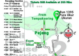 Next Run Map #1395 Pura Ukur Ukuran, Pejeng 20-Oct-18