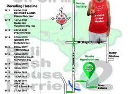 Bali Hash 2 Next Run Map #1410 Lodtunduh, Ubud 2-Feb-19