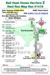 Bali Hash 2 Next Run Map #1418 Blusung, Darmasabah North Denpasar