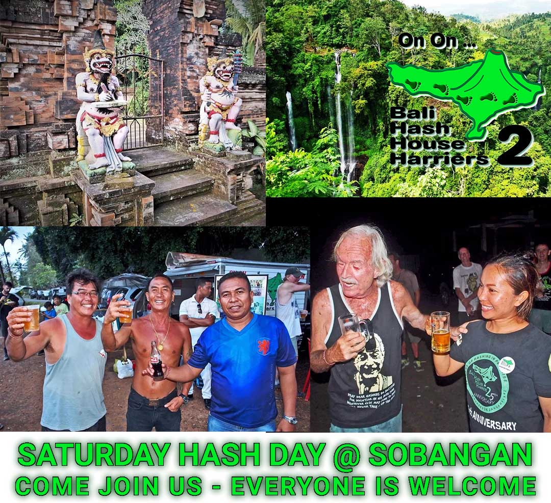 Bali Hash 2 Saturday Hash Day Pura Desa Sobangan