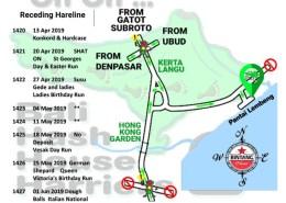 Bali Hash 2 Next Run Map #1419 Pantai Lembeng East Denpasar