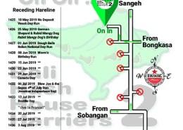 Bali Hash 2 Next Run Map #1424 Blahkiuh Swimming Pool
