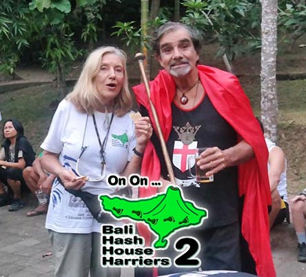 Today is Saturday Hash Day in Bali