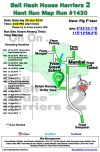 Bali Hash 2 Next Run Map #1430 Kolam Renang Tirtha Yasa Mambal