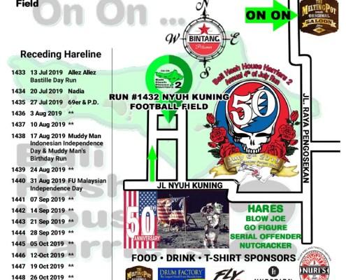 Update: Bali Hash 2 - 4th of July 2019 Run Starts 3:30PM