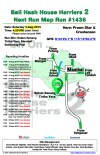 Bali Hash 2 Next Run Map #1436 Kolam Renang Tirtha Yasa Mambal