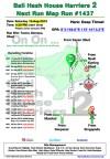 Bali Hash 2 Next Run Map #1437 Tunon Demayu