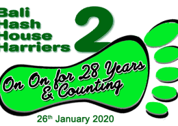 Happy Anniversary to Bali Hash House Harriers 2