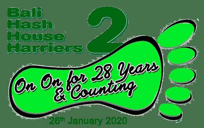 Happy Anniversary to Bali Hash House Harriers 2