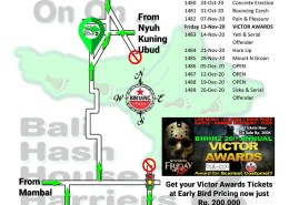 Bali Hash 2 Next Run Map #1479 Br Demanyu Tunon