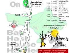 Bali Hash 2 Next Run Map #1481 The Kawi Resto