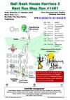 Bali Hash 2 Next Run Map #1481 The Kawi Resto