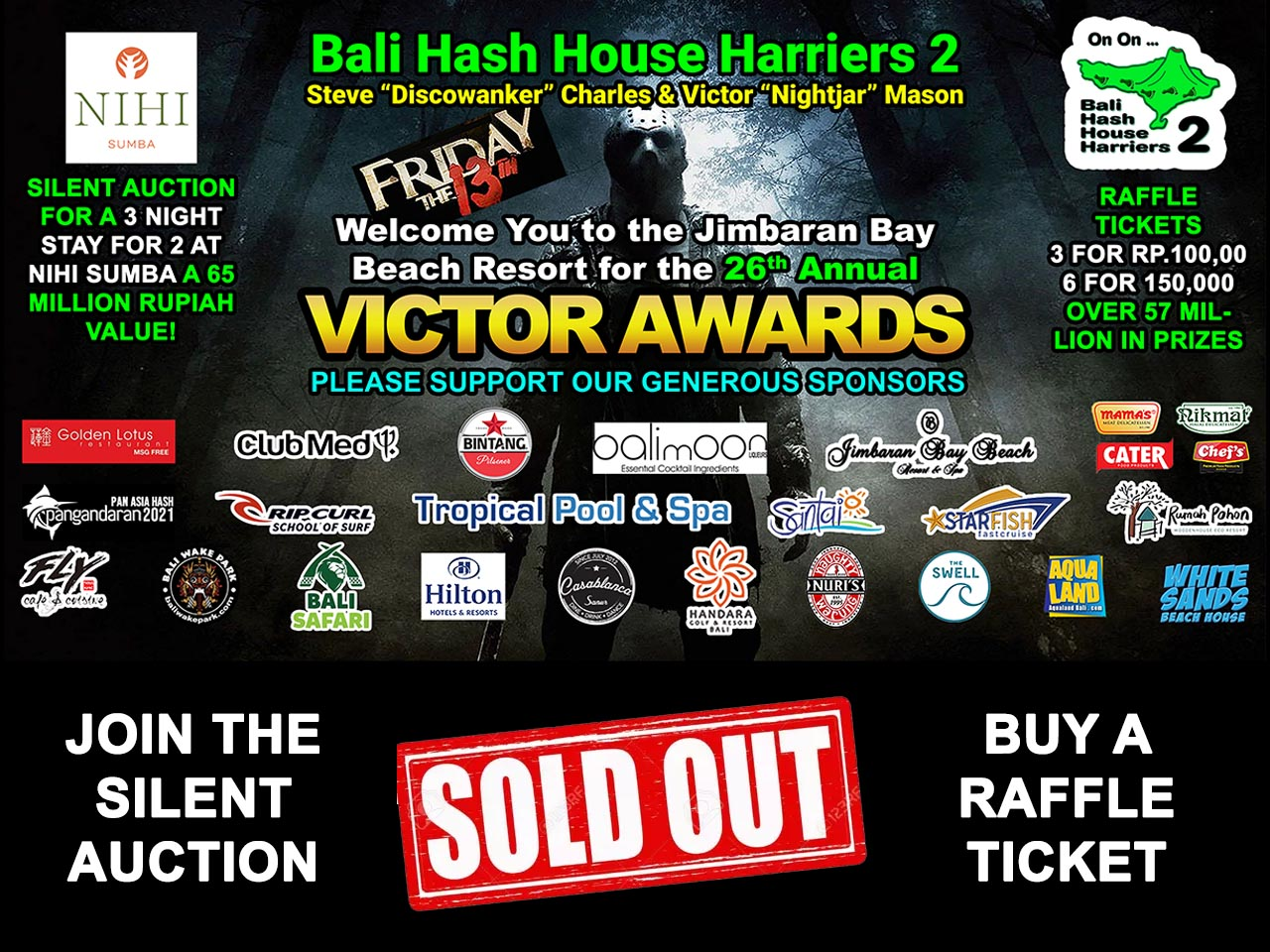 Victor Awards 2020 Tickets Now Sold Out