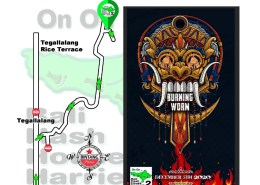 Bali Hash 2 Next Run Map #1486 Kedisan Tegallalang