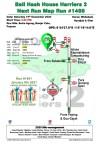 Bali Hash 2 Next Run Map #1488 Setra Agung Banjar Calo Pupuan