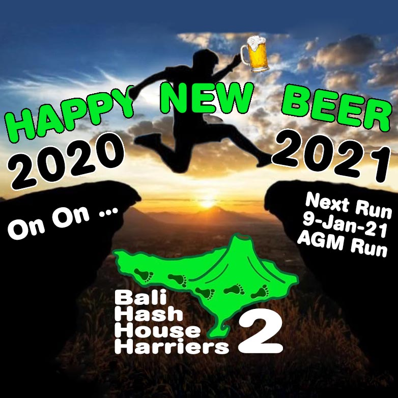 Bali Hash House Harriers 2 Happy New Beer