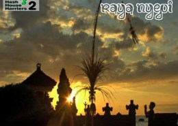 Bali Hash House Harriers 2 Hash Trash March 2021 Nyepi Edition