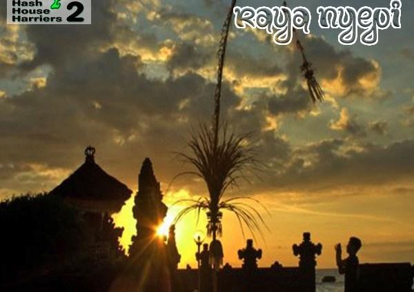 Bali Hash House Harriers 2 Hash Trash March 2021 Nyepi Edition