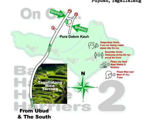 Bali Hash 2 Next Run Map #1490 Pura Dalem Kauh 10-Apr-21