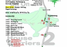 Bali Hash 2 Next Run Map #1492 Happy Swing Tegallalang 24-Apr-21